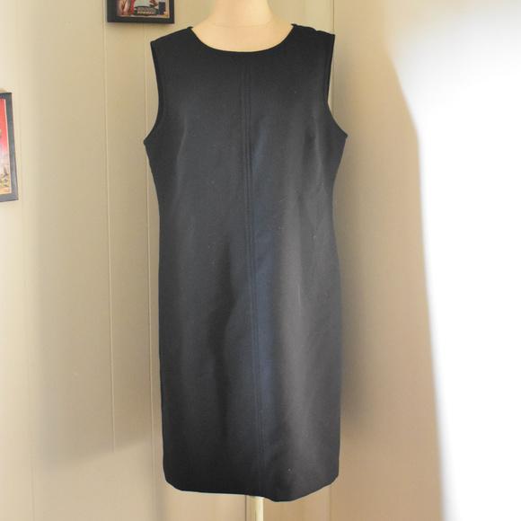 Talbots Dresses Sleeveless Black Shift Dress Poshmark